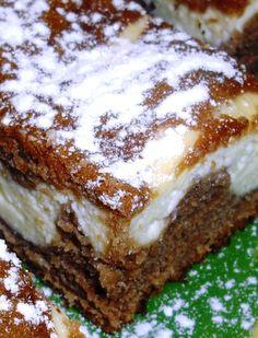 Sweet Desserts, Sweet Recipes, Cake Recipes, Dessert Recipes, Good Food, Yummy Food, Czech Recipes, Croatian Recipes, Sweet Cakes