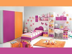 Cameretta Lilla E Arancione : 82 fantastiche immagini su arredissima camerette kid bedrooms
