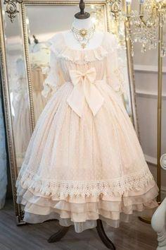 Kawaii Fashion, Lolita Fashion, French Style Dresses, Cosplay Anime, Frilly Dresses, Japanese Street Fashion, Sweet Dress, Lolita Dress, Gothic Lolita