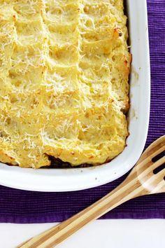 Torta de batata e mandioquinha com carne moída | Blog Figos & Funghis