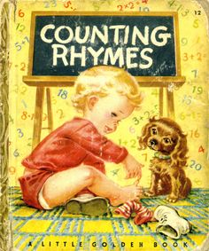 Counting Rhymes,1946 F edition, pictures by  Corinne Malvern