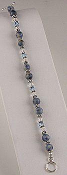 Jewelry Making Idea: Everyday Blue Jean Bracelet