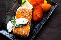 Zdravá večeře: 20 jednoduchých receptů na zdravá jídla Grilled Salmon Recipes, Fish Recipes, Seafood Recipes, Soup Recipes, Fresco, Digestion Difficile, Paleo Diet, Keto, Spinach Nutrition Facts