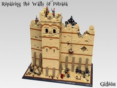 Repairing the Walls of Petraea by Gideon on Flickr