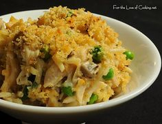 CHICKEN TETRAZZINI <--- heyyy, my mom used to make an, uh, easy version of this a million years ago.