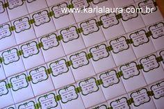 Karla Laura Convites, Lembranças e Papelaria Personalizada: Lenço para lágrimas de alegria - Andriely