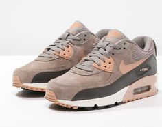 Nike Sportswear AIR MAX 90 Baskets basses iron/metallic red bronze/dark…
