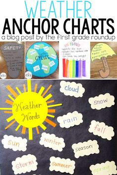 Weather Anchor Chart Roundup