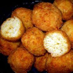 Sajtos sült rizsgolyók Recept képpel - Mindmegette.hu - Receptek Mashed Potatoes, Ethnic Recipes, Food, Whipped Potatoes, Smash Potatoes, Eten, Meals, Shredded Potatoes, Diet