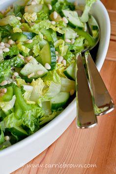 #SANE Pineapple Pinenut Salad  |  www.carriebrown.com  |  www.sanesolution.com