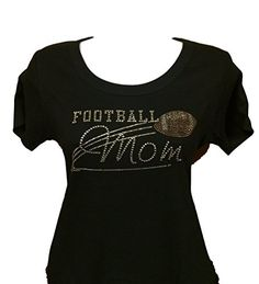 Football Mom Rhinestone Bling Tee (Medium) Homestead Imprints http://www.amazon.com/dp/B00UNPJ468/ref=cm_sw_r_pi_dp_aVj2vb1N36MG1