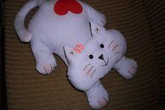International Sewing Patterns, cat stuffed animal pattern