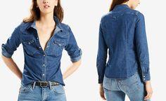 Levi's® Vintage Denim Shirt - Tops - Women - Macy's