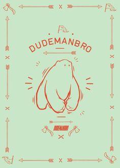 Dudemanbro Illustration by Luke Klenske, via Behance