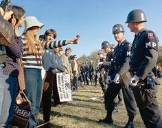 Brief History Of Hippies Protest Flower