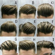 mens hairstyles back Mens Hairstyles Pompadour, Hairstyles Haircuts, Haircuts For Men, Cool Hairstyles, Pomade Hairstyle Men, Barber Hairstyles, Fashion Hairstyles, Trending Hairstyles, Medium Hair Styles