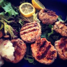 Pork Burgers, Tzatziki, Tandoori Chicken, Posts, Ethnic Recipes, Blog, Messages, Blogging