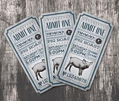 15 inspiring examples of ticket design: http://www.playmagazine.info/15-inspiring-examples-of-ticket-design/