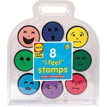 Alex Toys I Feel Stamp Kit by Alex. $15.42. This kit is a great activity for one child or a small group. Art activities encourage a child's imagination and learning development. Comes with 8 stamps and a washable ink pad in a carry-along case. Stamping helps kids develop fine motor skills. Helps little ones to understand their feelings. From the Manufacturer                Alex I Feel Stamp Kit has stamps for every mood of the day. Use a happy stamp. Stamp your ...