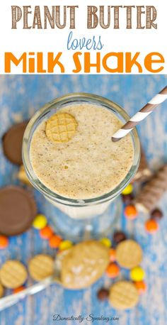 Peanut Butter Lovers Milk Shake