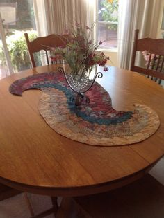 Spiral Table Topper by Creating4Fun on Etsy, $110.00