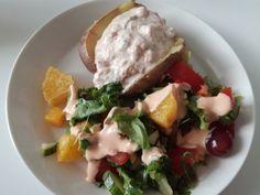 Tupun tupa: Uuniperunat kahdella kalatäytteellä Eggs, Breakfast, Food, Morning Coffee, Essen, Egg, Meals, Yemek, Egg As Food