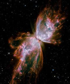 Celestial Wings, Hubble Telescope, Space, Photo Print