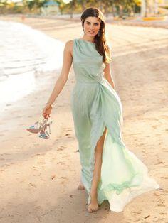 Vestidos para boda en la playa en invierno