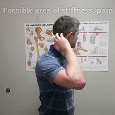 🔥Upper Cervical Stretch🔥 . 🤕 Today's stretch/mobilization may be indicated for those of you who suffer from a stiff neck that is either not painful or minimally painful at rest, but is painful and/or limited as you turn your neck in one direction. It can also be used for those of you with headaches as long as you progress slowly, as being too aggressive with this may temporarily make your symptoms worse. Just be smart with it
