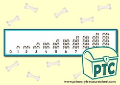 FREE Digit Dog Maths Challenges by Lynwen Barnsley Numeracy Consultant - Primary Treasure Chest Teaching Activities, Math Resources, Teaching Math, Teaching Ideas, Numicon, Maths Area, Ourselves Topic, Math Challenge, Display Banners