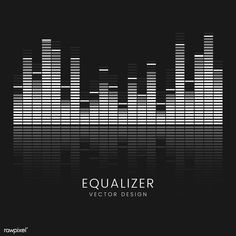 Sound wave equalizer vector design | free image by rawpixel.com Music Waves, Sound Waves, Couple Kissing Pics, Vector Can, Vector Free, Vector Design, Logo Design, Free Video Editing Software, Jeep Stickers