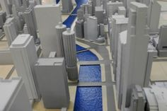 Chicago City Printed In 3D