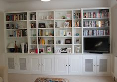 Fitted Wardrobes and other Built-in furniture best in London. We specialised in Fitted Bedrooms, Alcove Cupboards, bookshelves and other Fitted Furniture Built In Wall Shelves, Small Bookshelf, Living Room Shelves, Bookshelf Design, Living Room Storage, Built In Bookcase, My Living Room, Floating Shelves, Bookcase Plans