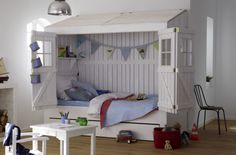 cute barn bed