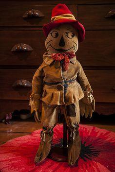 A rare 1920s Scarecrow doll