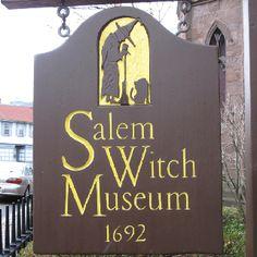 Salem Witch Museum Sign...Salem, MA