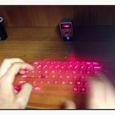 Magic-Cube virtual keyboad and mouse