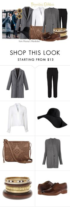 """""""Porpentina Goldstein"""" by evalupin ❤ liked on Polyvore featuring Helmut Lang, Lipsy, T-shirt & Jeans, The Row, Frye, Chanel, harrypotter, fantasticbeastsandwheretofindthem and PorpentinaGoldstein"""