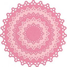 QuicKutz Dies - Nesting Doily Circles
