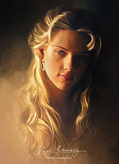 Женский образ в чудесных картинах (67 работ)