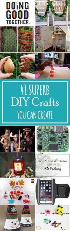 41 Superb DIY Crafts You Can Create