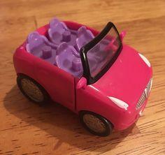 Squinkies Car Barbie Blip Fits 4