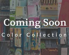 Coming up next month -- Color Collection    Find out more details at https://yosekastationery.com/blogs/news/sneak-peak-to-next-month    #yoseka #stationery #nyc