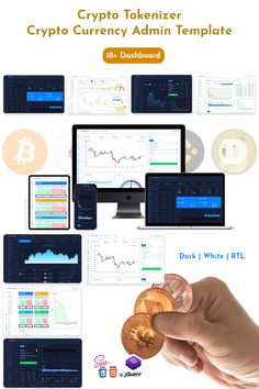 Bootstrap dashboard trading crypto