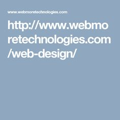 Web More Technologies is a high quality in Delhi NCR providing the best and services.