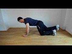 Bird dog - un exercitiu pentru intarirea abdomenului si consolidarea stabilitatii spatelui.