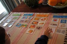"""Making Montessori Ours"": Season Sorting  Activity Cards"