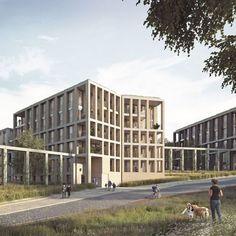 Forbes Massie / 3D Visualisation Studio / London - Work - Unit / Millbrook Park: