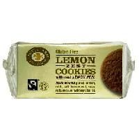 Poza Biscuiti bio cu coaja de lamaie, fara gluten, 150 g Lemon, Gluten