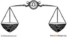 What's the meaning behind Libra tattoos? Get your inspiration from these 55 unique Libra tattoo ideas. Dragon Koi Tattoo Design, Justice Tattoo, Libra Symbol, Libra Tattoo, Symbol Tattoos, Scale Design, Unique Tattoos, Tattoo Designs, Symbols